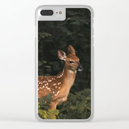 Curiosity Clear iPhone Case