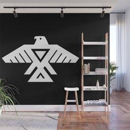 Thunderbird flag - Inverse edition version Wall Mural