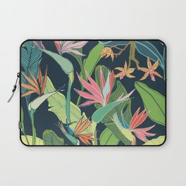 Tropical Bird of Paradise Laptop Sleeve