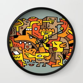 The Gentle Lunch Wall Clock