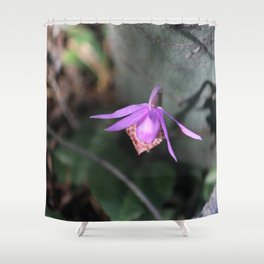 Up the Trail-head Shower Curtain
