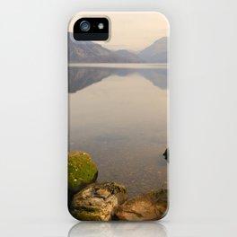 ennerdale water autumn sunset iPhone Case