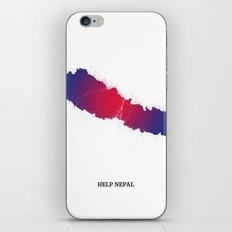 Help Nepal  iPhone & iPod Skin