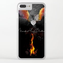 Manifest Your Brilliance Clear iPhone Case