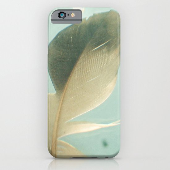 Grey Feather iPhone & iPod Case