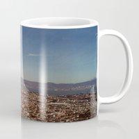 twin peaks Mugs featuring Twin Peaks by BarbaraJBarton