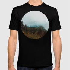 Park Butte Lookout - Washington State Black Mens Fitted Tee MEDIUM