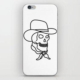Howdy iPhone Skin