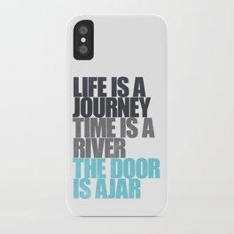 The Door is Ajar iPhone Case