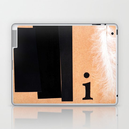 Shades of black Laptop & iPad Skin