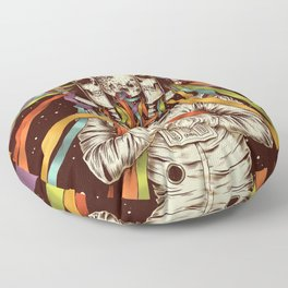Life from The Darkest Existence Floor Pillow