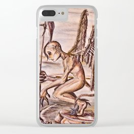 Agel of demons Clear iPhone Case