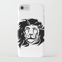 lion king iPhone & iPod Cases featuring Lion King by Alexandr-Az