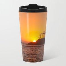 Laguna Beach Sunset Metal Travel Mug