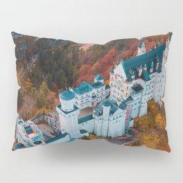 Neuschwanstein Castle in Schwangau, Germany Pillow Sham