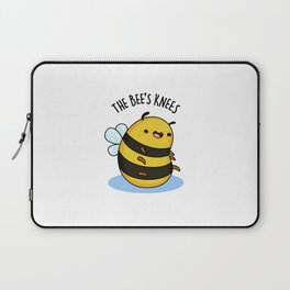 The Bee's Knees Cute Bee Pun Laptop Sleeve