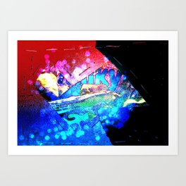 ice candy Art Print