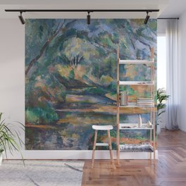 The Brook by Paul Cézanne Wall Mural