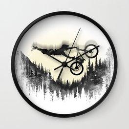 MTB Moon Forest Wall Clock