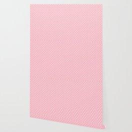 Dots (White/Pink) Wallpaper