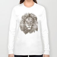 leo Long Sleeve T-shirts featuring Leo by Eric Fan