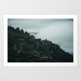 douro mountains and valley Art Print