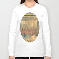 lonely Long Sleeve T-shirts featuring Lonely by Rose Etiennette