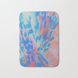 Blue Petal Surge Bath Mat