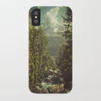 italian iPhone & iPod Cases featuring Mountain View - Italian Alps by Dirk Wuestenhagen Imagery