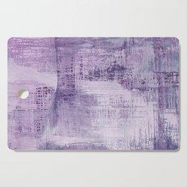 Dreamscape in Purple Cutting Board
