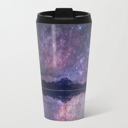 Space and time Metal Travel Mug