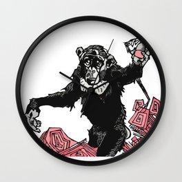 Chimp Sh*t Wall Clock