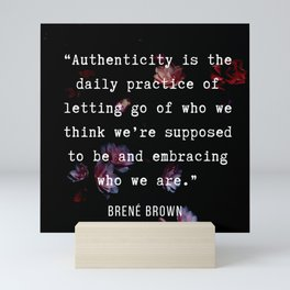 35   | Brene  Brown Quotes  | 190717 | Mini Art Print