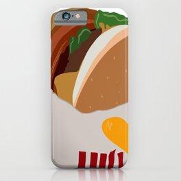 Burger Life iPhone Case