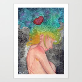 Love and Exposure Art Print