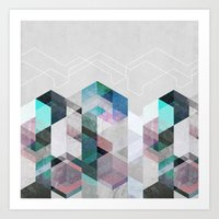 nordic Art Prints featuring Nordic Combination 23 by Mareike Böhmer