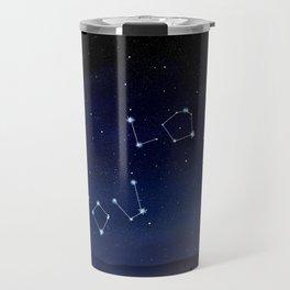I love You Stars Design Travel Mug