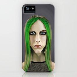 Celebrity Sunday ~ Avril Lavigne iPhone Case