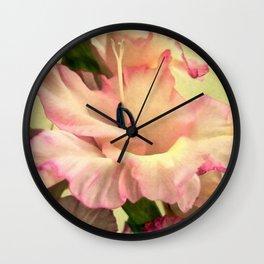 Vintage pink Wall Clock