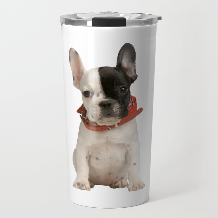Boston Terrier Puppy Travel Mug