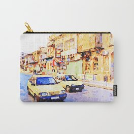 Aleppo: Taxi through the streets of Aleppo Carry-All Pouch