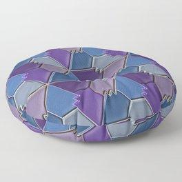 Blues & Purples Floor Pillow