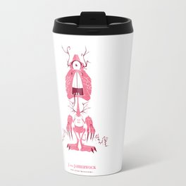 J is for Jabberwock Travel Mug