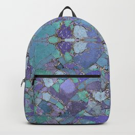 Abstract Terrazzo Kaleidoscope 617 Backpack