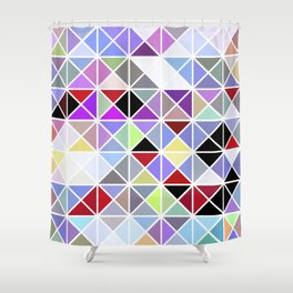 Triangle No. 2 Shower Curtain