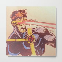 Scott Summers - Cyclops Metal Print