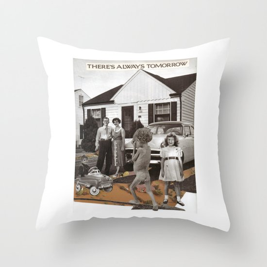 Positive Mental Attitude  Throw Pillow