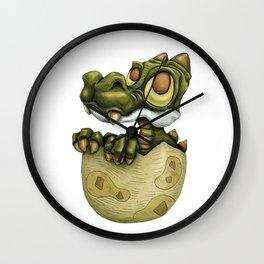 Baby dragon. Wall Clock