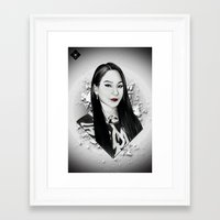 2ne1 Framed Art Prints featuring CL (2NE1) by hope-arts