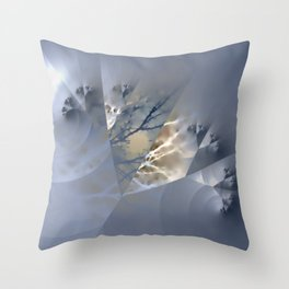 Branches - combined natural and artificial Throw Pillow